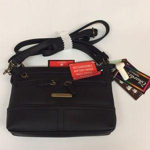 New Stone & Co Leather 4 Bagger Handbag Purse
